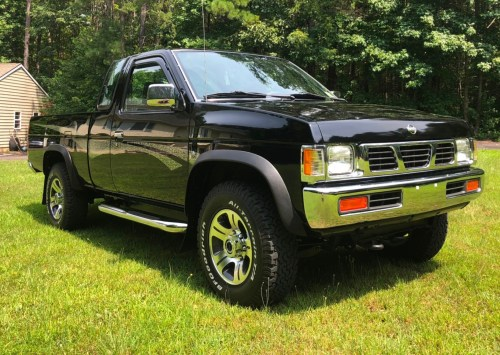 small resolution of 10k mile 1997 nissan hardbody king cab 4x4 for sale on bat auctions sold for 24 000 on august 1 2018 lot 11 312 bring a trailer