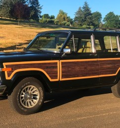 1990 jeep grand wagoneer for sale on bat auctions sold for 20 000 on august 20 2018 lot 11 739 bring a trailer [ 1974 x 1218 Pixel ]