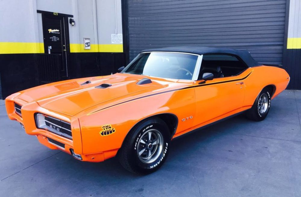 medium resolution of 1969 pontiac gto convertible 400 4 speed for sale on bat auctions sold for 26 000 on september 27 2018 lot 12 688 bring a trailer