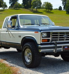 1986 ford f 250 xlt lariat supercab 4x4 4 speed for sale on bat auctions sold for 15 750 on august 23 2018 lot 11 830 bring a trailer [ 2048 x 1362 Pixel ]