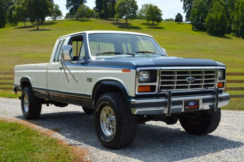 small resolution of 1986 ford f 250 xlt lariat supercab 4x4 4 speed for sale on bat auctions sold for 15 750 on august 23 2018 lot 11 830 bring a trailer