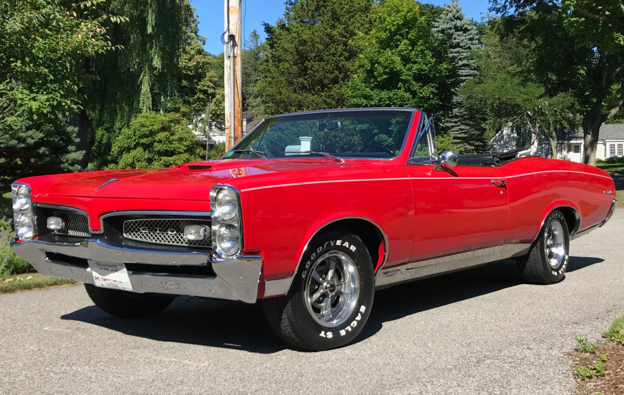 hight resolution of 1967 pontiac gto convertible 4 speed for sale on bat auctions sold for 28 250 on october 15 2018 lot 13 186 bring a trailer