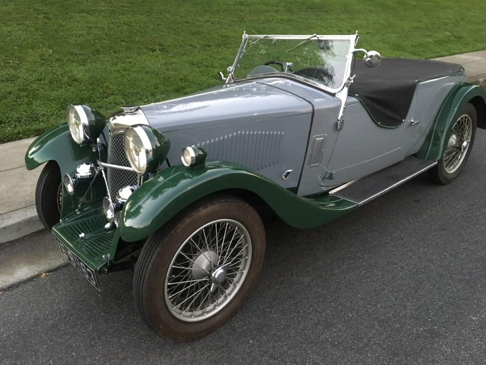 medium resolution of 1933 riley nine lynx for sale on bat auctions closed on september 27 2018 lot 12 719 bring a trailer