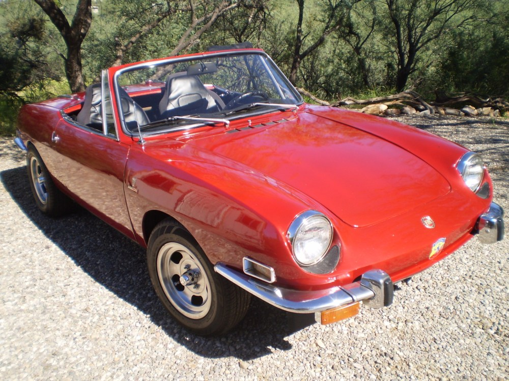 medium resolution of 1971 fiat 850 sport spider for sale on bat auctions sold for 9 400 on october 12 2018 lot 13 153 bring a trailer