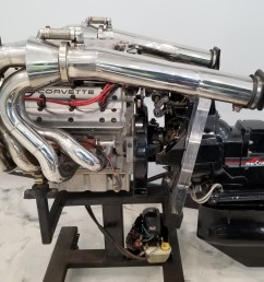 no reserve 1991 mercruiser lt5 wette vette marine engine for sale on bat auctions sold for 10 000 on january 7 2019 lot 15 363 bring a trailer [ 1919 x 1353 Pixel ]