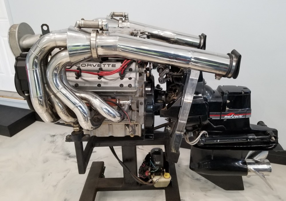 medium resolution of no reserve 1991 mercruiser lt5 wette vette marine engine for sale on bat auctions sold for 10 000 on january 7 2019 lot 15 363 bring a trailer