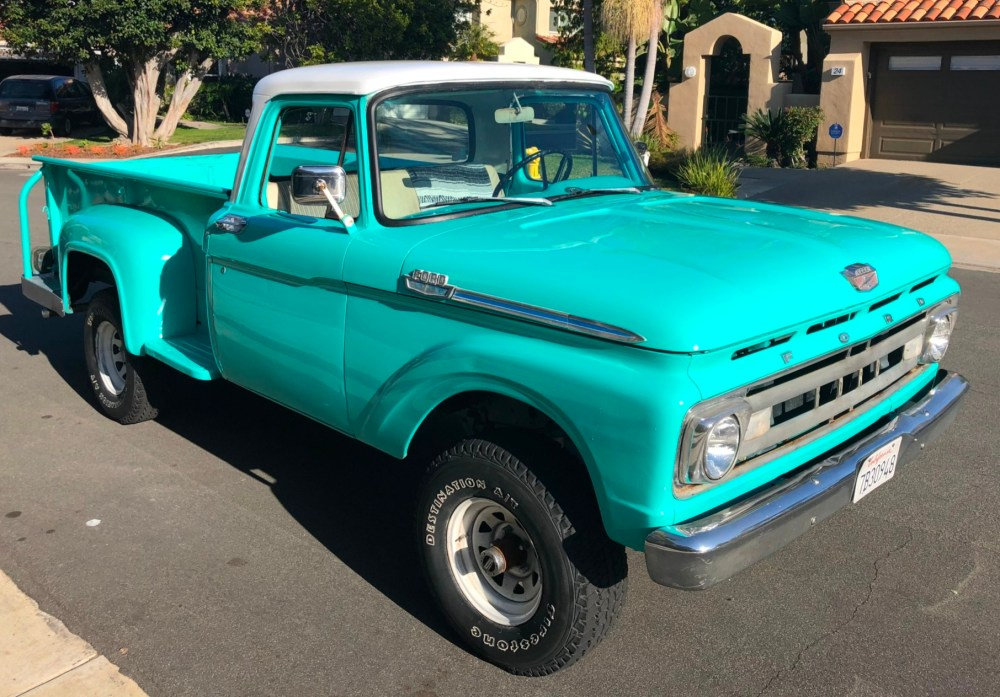 medium resolution of 1961 ford f 100 4x4 4 speed for sale on bat auctions closed on december 26 2018 lot 15 142 bring a trailer