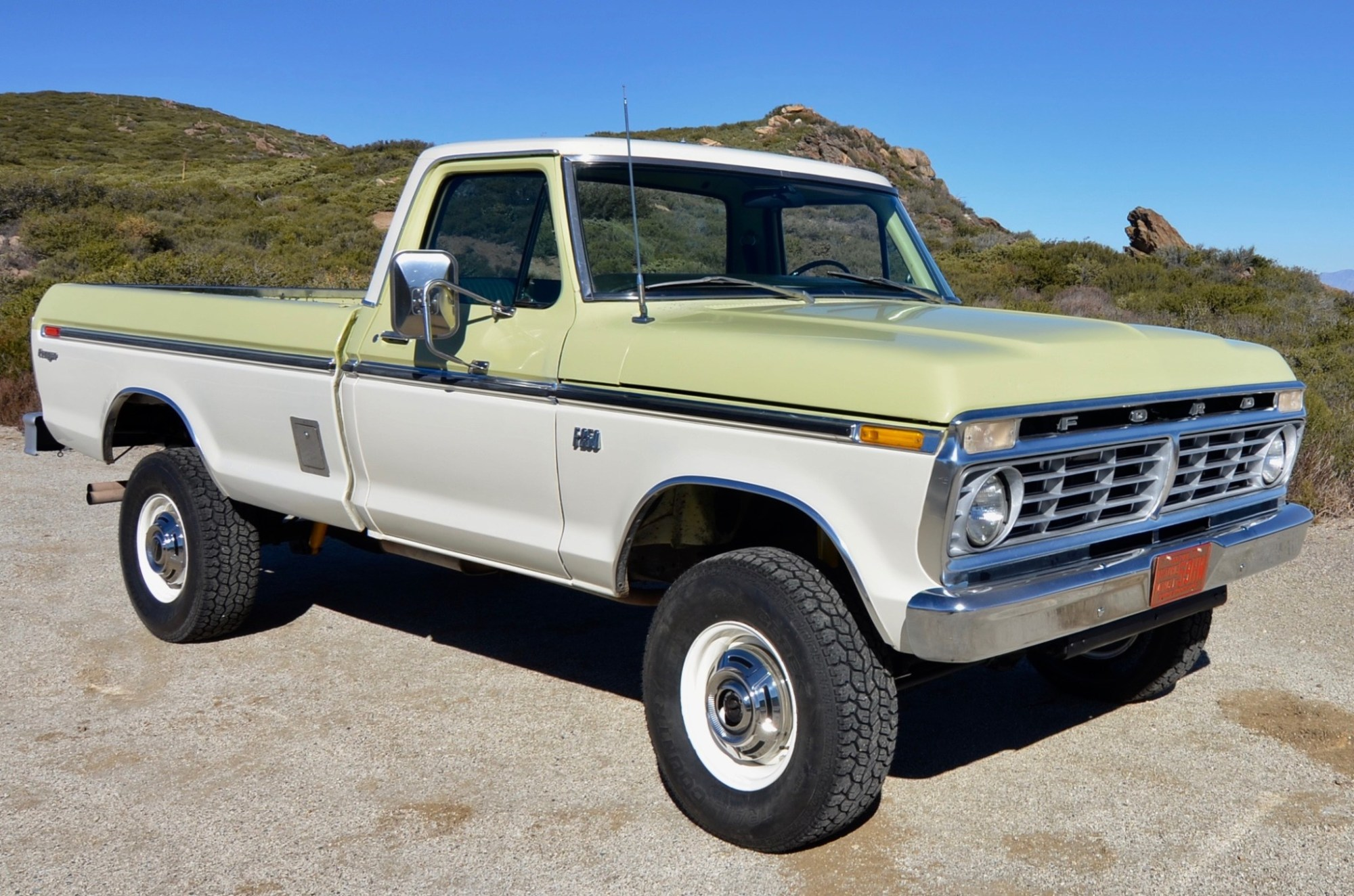 hight resolution of no reserve 1975 ford f 250 4x4 for sale on bat auctions sold for 20 500 on december 31 2018 lot 15 264 bring a trailer