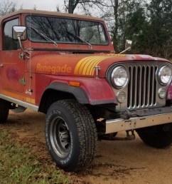 no reserve 1980 jeep cj 7 renegade for sale on bat auctions sold for 6 989 on december 3 2018 lot 14 531 bring a trailer [ 1602 x 1049 Pixel ]