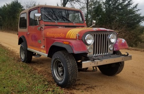 small resolution of no reserve 1980 jeep cj 7 renegade for sale on bat auctions sold for 6 989 on december 3 2018 lot 14 531 bring a trailer