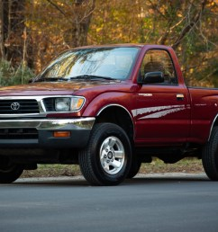 1996 toyota tacoma 4x4 5 speed for sale on bat auctions sold for 21 500 on december 20 2018 lot 15 035 bring a trailer [ 2048 x 1367 Pixel ]