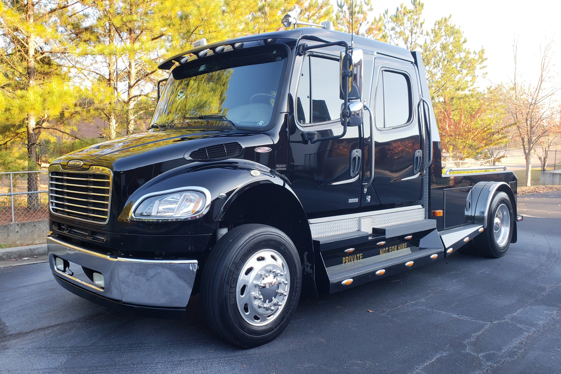 hight resolution of no reserve 2007 freightliner m2 sportchassis for sale on bat auctions sold for 45 250 on january 4 2019 lot 15 351 bring a trailer
