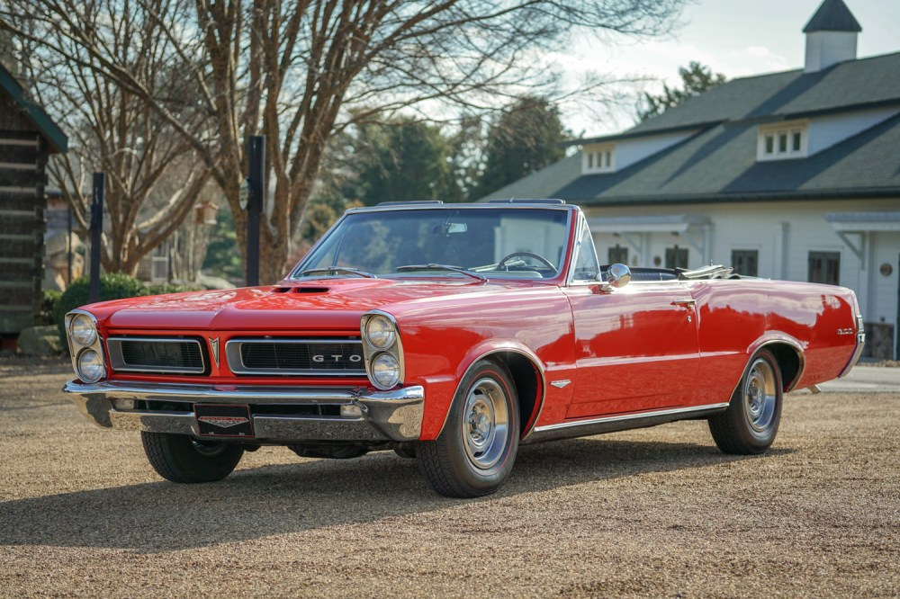 medium resolution of 1965 pontiac gto convertible 389 4 speed for sale on bat auctions closed on february 14 2019 lot 16 336 bring a trailer