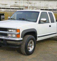 no reserve 1994 chevrolet silverado ck2500 6 5l turbodiesel 4x4 for sale on bat auctions sold for 12 750 on january 25 2019 lot 15 833 bring a  [ 1200 x 801 Pixel ]