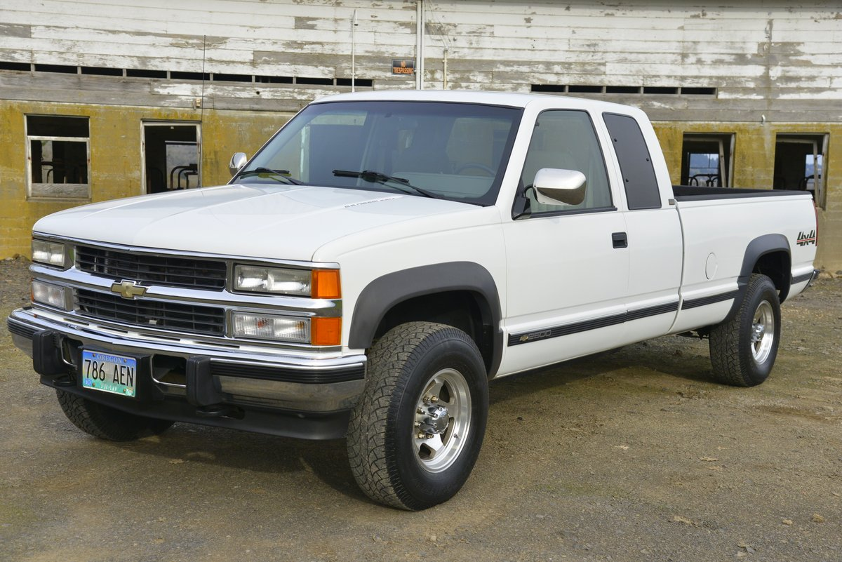 hight resolution of no reserve 1994 chevrolet silverado ck2500 6 5l turbodiesel 4x4 for sale on bat auctions sold for 12 750 on january 25 2019 lot 15 833 bring a