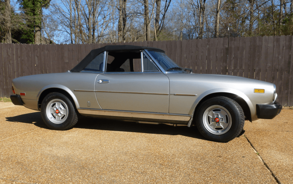 medium resolution of 1981 fiat 124 spider 2000 for sale on bat auctions sold for 6 600 on march 5 2019 lot 16 811 bring a trailer