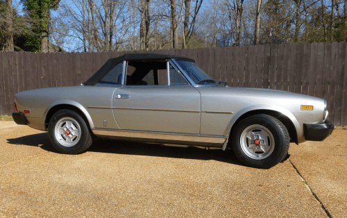 small resolution of 1981 fiat 124 spider 2000 for sale on bat auctions sold for 6 600 on march 5 2019 lot 16 811 bring a trailer