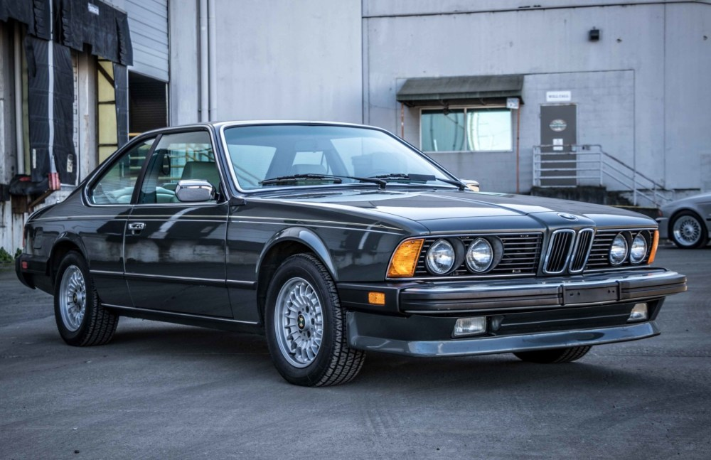 medium resolution of 60k mile 1986 bmw 635csi for sale on bat auctions sold for 25 000 bmw e9 coupe rust diagram wheel wells