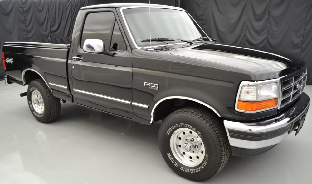 medium resolution of 33k mile 1996 ford f 150 xlt 4x4 5 speed for sale on bat auctions closed on april 10 2019 lot 17 799 bring a trailer