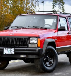 1996 jeep cherokee 4x4 2 door for sale on bat auctions closed on april 4 2019 lot 17 641 bring a trailer [ 1747 x 1139 Pixel ]