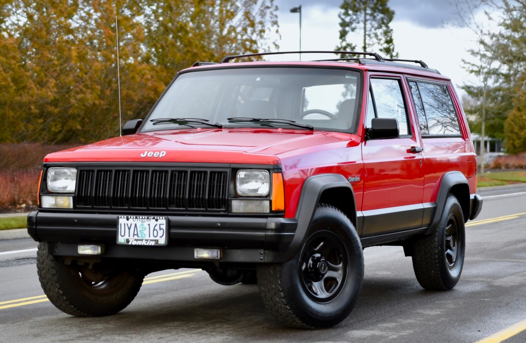 hight resolution of 1996 jeep cherokee 4x4 2 door for sale on bat auctions closed on april 4 2019 lot 17 641 bring a trailer