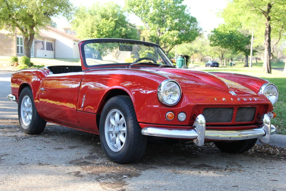 medium resolution of gt6 powered 1964 triumph spitfire for sale on bat auctions sold for 12 000 on may 8 2019 lot 18 649 bring a trailer