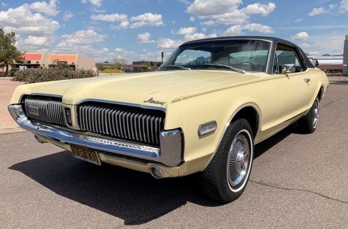 small resolution of 1968 mercury cougar for sale on bat auctions sold for 20 550 on may 27 2019 lot 19 248 bring a trailer