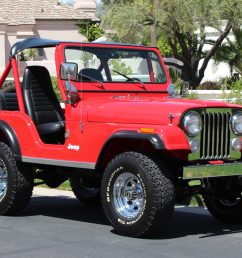restored 1980 jeep cj 5 for sale on bat auctions sold for 26 500 on may 7 2019 lot 18 572 bring a trailer [ 1459 x 972 Pixel ]