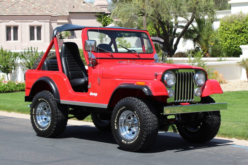 medium resolution of restored 1980 jeep cj 5 for sale on bat auctions sold for 26 500 on may 7 2019 lot 18 572 bring a trailer