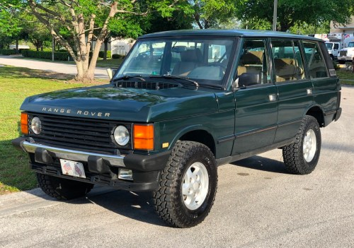 small resolution of 1995 range rover classic for sale on bat auctions sold for 6 100 on may 10 2019 lot 18 729 bring a trailer