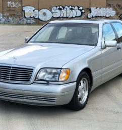 19k mile 1997 mercedes benz s600 for sale on bat auctions closed on june 28 2019 lot 20 405 bring a trailer [ 1996 x 1331 Pixel ]
