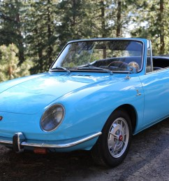 no reserve 1967 fiat 850 spider for sale on bat auctions sold for 13 250 on june 20 2019 lot 20 084 bring a trailer [ 2048 x 1365 Pixel ]