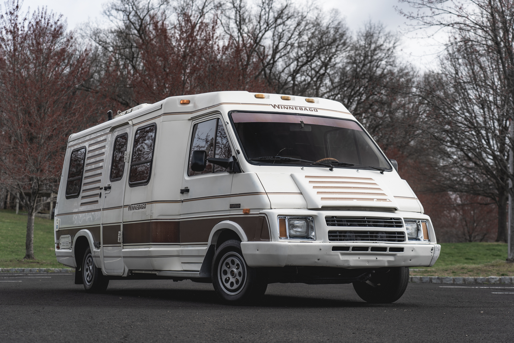 hight resolution of no reserve 1985 winnebago lesharo turbodiesel 4 speed rv for sale on bat auctions sold for 7 100 on may 22 2019 lot 19 108 bring a trailer
