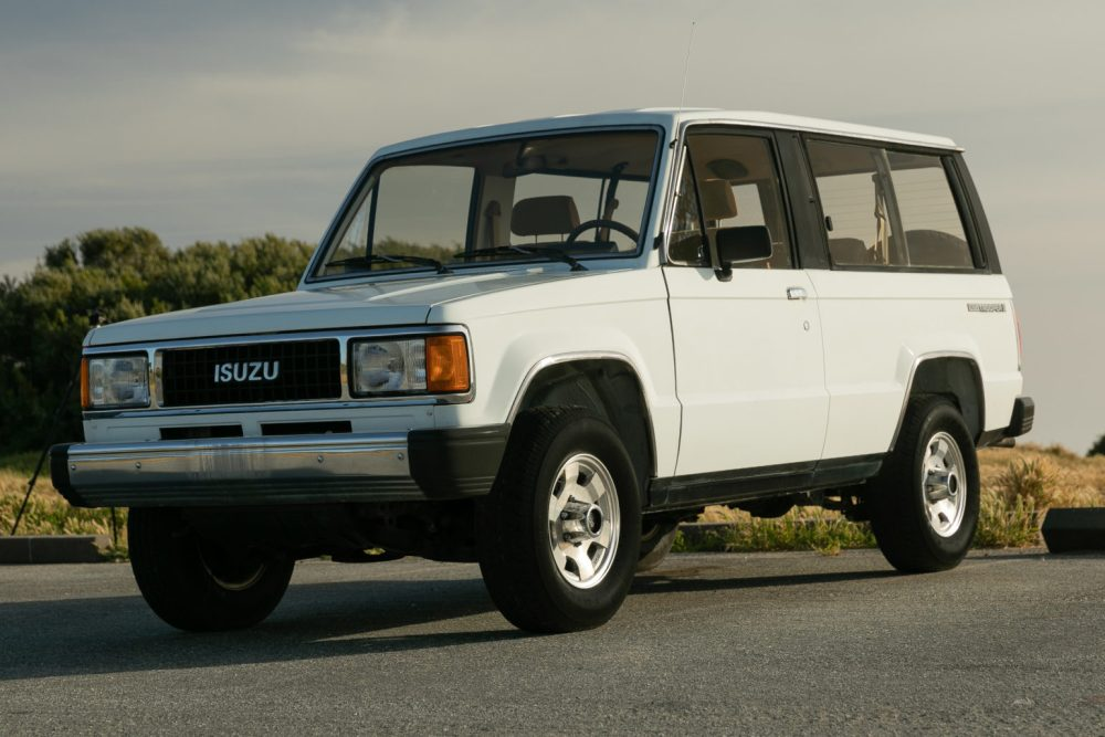 medium resolution of no reserve 1987 isuzu trooper ii 5 speed for sale on bat auctions sold for 10 000 on may 27 2019 lot 19 250 bring a trailer