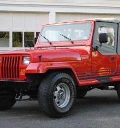 66k mile 1989 jeep wrangler islander 5 speed for sale on bat auctions sold for 14 500 on june 19 2019 lot 20 023 bring a trailer [ 1766 x 1114 Pixel ]