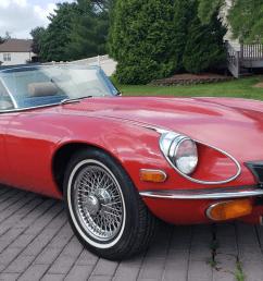 1974 jaguar xke roadster 4 speed for sale on bat auctions ending july 5 lot 20 586 bring a trailer [ 1750 x 955 Pixel ]