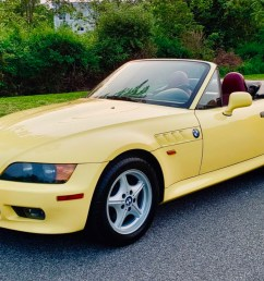 57k mile 1997 bmw z3 5 speed for sale on bat auctions closed on june 11 2019 lot 19 757 bring a trailer [ 1541 x 970 Pixel ]