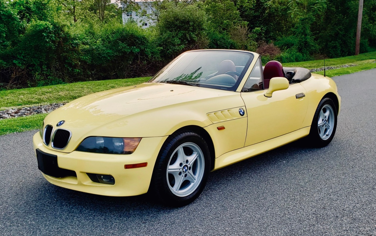 hight resolution of 57k mile 1997 bmw z3 5 speed for sale on bat auctions closed on june 11 2019 lot 19 757 bring a trailer