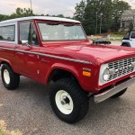 1970 Ford Bronco 5 0l 5 Speed For Sale On Bat Auctions Closed On October 30 2019 Lot 24 554 Bring A Trailer