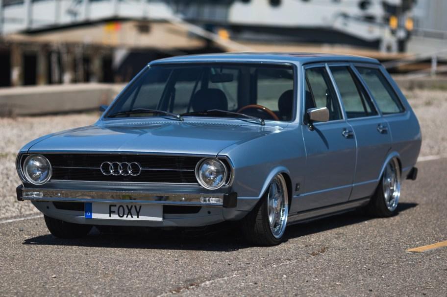 No Reserve: Modified 1976 Audi Fox Wagon