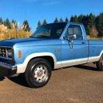 No Reserve 1987 Ford Ranger Xlt V6 For Sale On Bat Auctions Sold For 5 500 On December 24 2019 Lot 26 440 Bring A Trailer