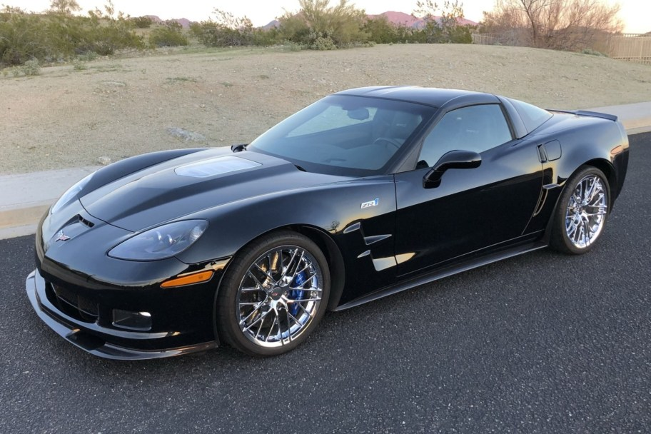 7,500-Mile 2010 Chevrolet Corvette ZR1