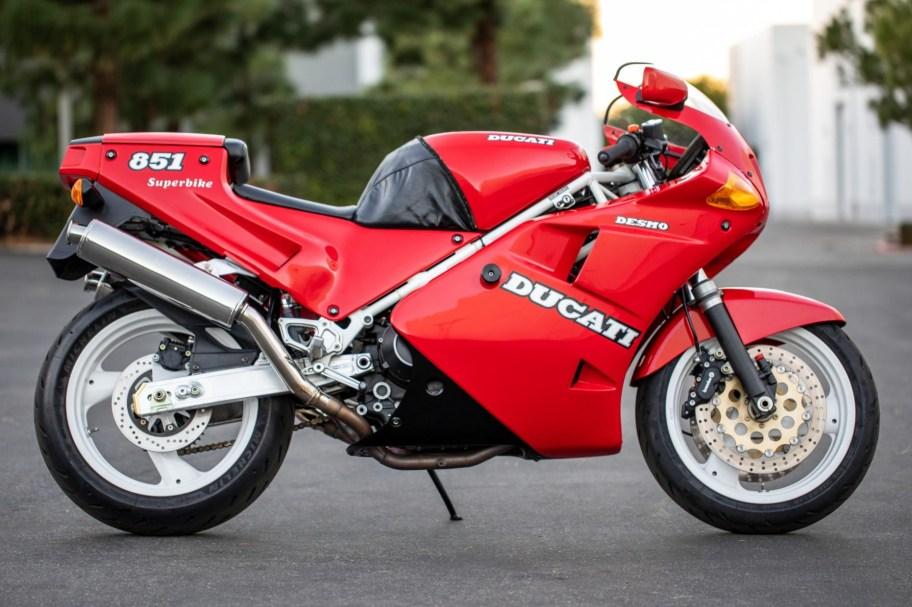 6k-Mile 1990 Ducati 851 Superbike