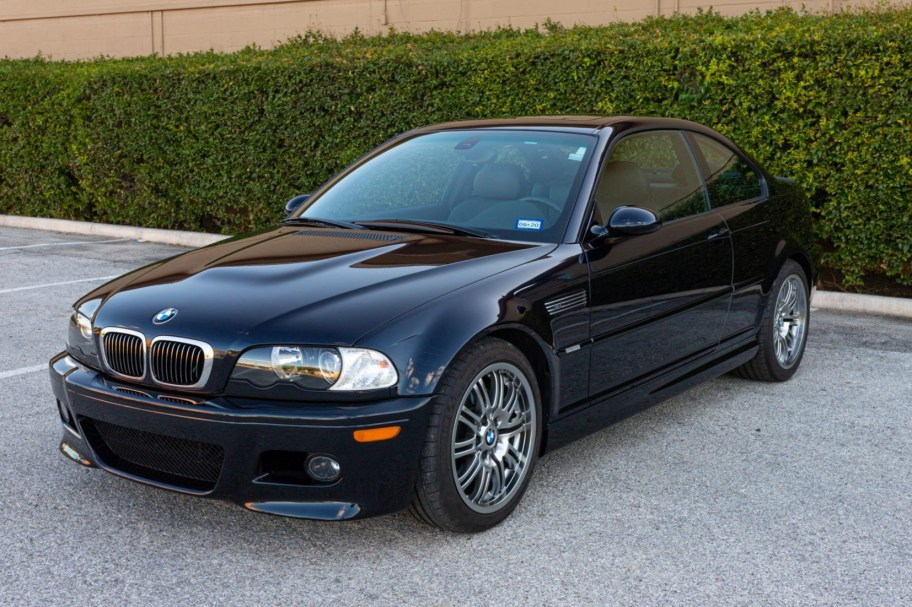 8k-Mile 2002 BMW M3 Coupe