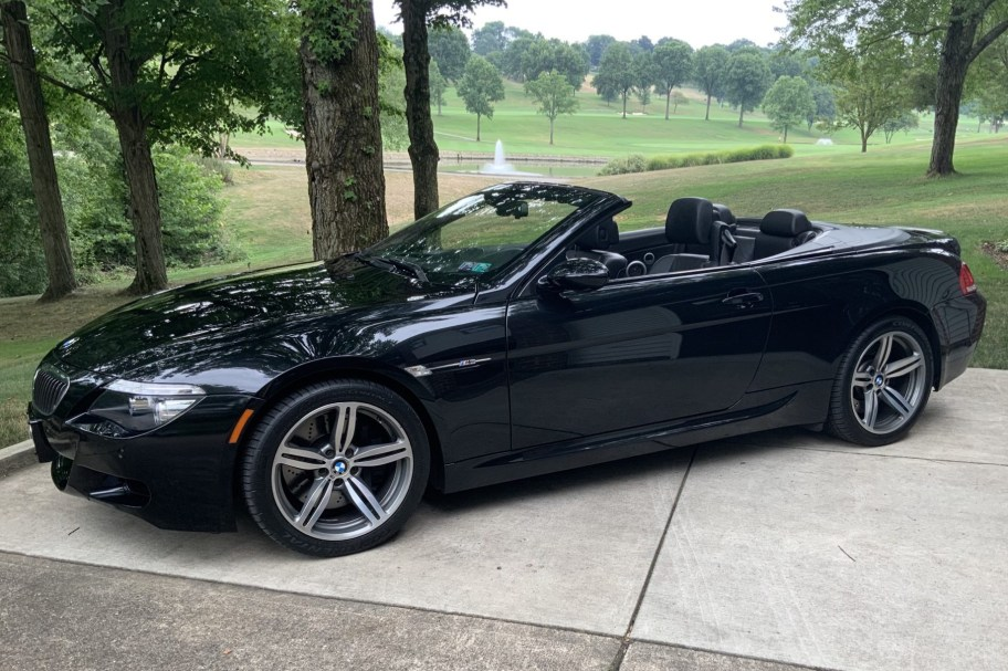 2008 BMW M6 Convertible 6-Speed