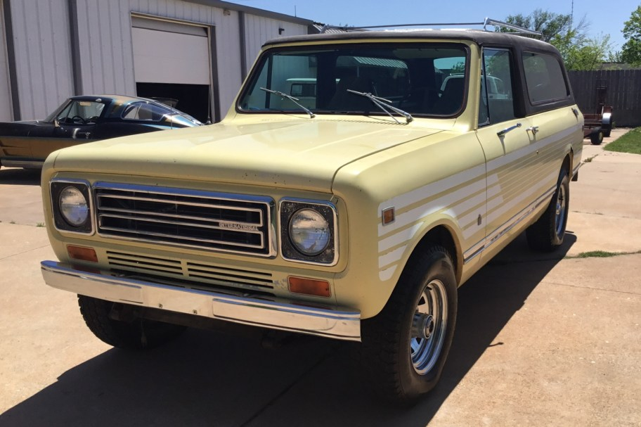 No Reserve: 1978 International Harvester Scout II Traveler