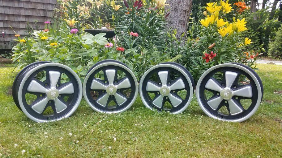 "No Reserve: 1972 Fuchs 15x6"" Wheels for Porsche 911"