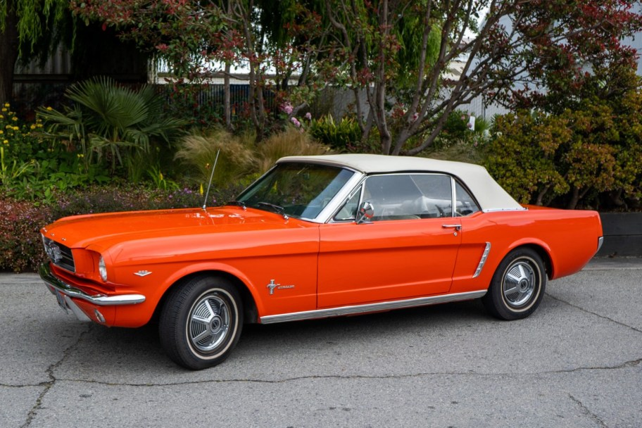 1965 Ford Mustang Convertible 289 3-Speed