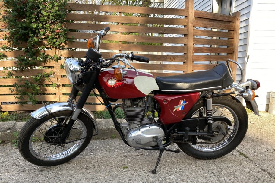 No Reserve: 1967 BSA B44 Shooting Star