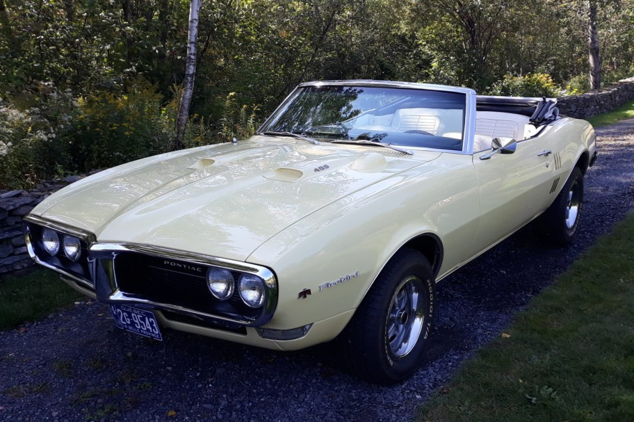 1968 Pontiac Firebird Convertible 4-Speed